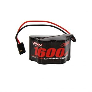 Venom 6V 1600mAh 5-Cell Hump Receiver NiMH Battery