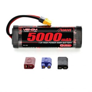 Venom 7.2V 5000mAh 6 Cell NiMH Battery with Universal Plug System