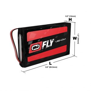 Venom Fly 30C 2S 1300mAh 7.4V LiPo Battery with UNI 2.0 Plug