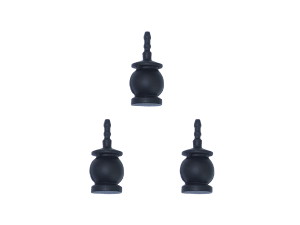 Gremsy Black Silicone Rubber Replacement Damping Balls