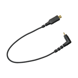Right to Straight Angle Micro HDMI Cable (20cm)