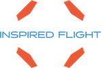 Inspired Flight USA MAde Drone Logo Air Supply